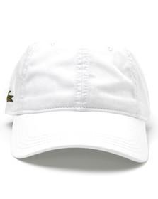 Lacoste Sport Mens White  RK9811 Logo Cap