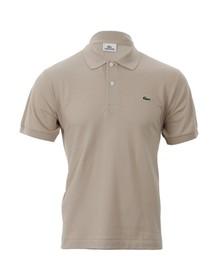 Lacoste Mens Beige L1212 Pignon Plain Polo Shirt