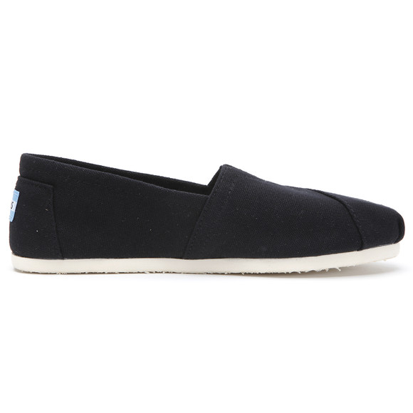 Toms Womens Black Classic Canvas main image