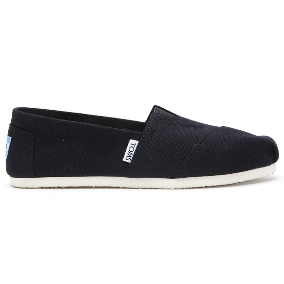 Toms Womens Black Classic Canvas