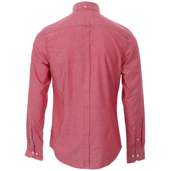 Ben Sherman Mens Red Ben Sherman MA00553 Slim Fit Red Oxford Shirt main image