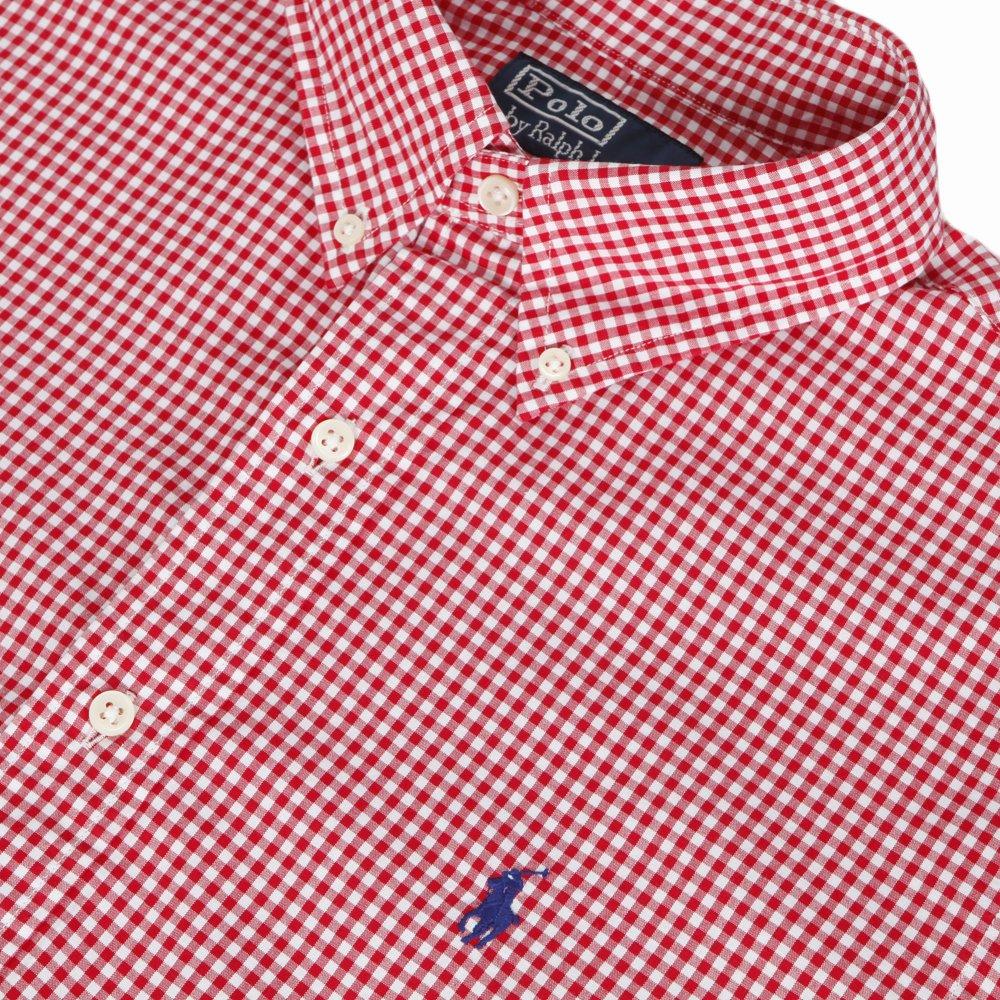485da9ee Mens Red Ralph Lauren Custom Fit Red/White Check Shirt