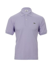 Lacoste Mens Purple L1212 Muflier Plain Polo Shirt