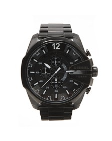 Diesel Mens Black Diesel DZ4283 Mega Chief Watch