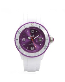 Ice-Watch Unisex White Ice White Sili Watch