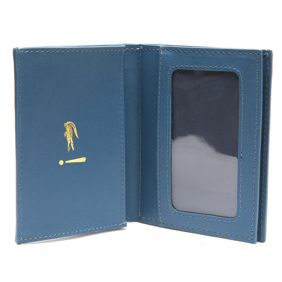 Lacoste Mens Blue Lacoste Credit Card Holder main image