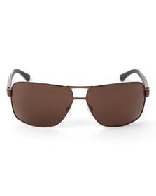 Emporio Armani Mens Brown Armani OEA2001 Brown Sunglasses