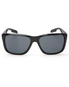 Prada Linea Rossa Mens Black 04OS Black Sunglasses