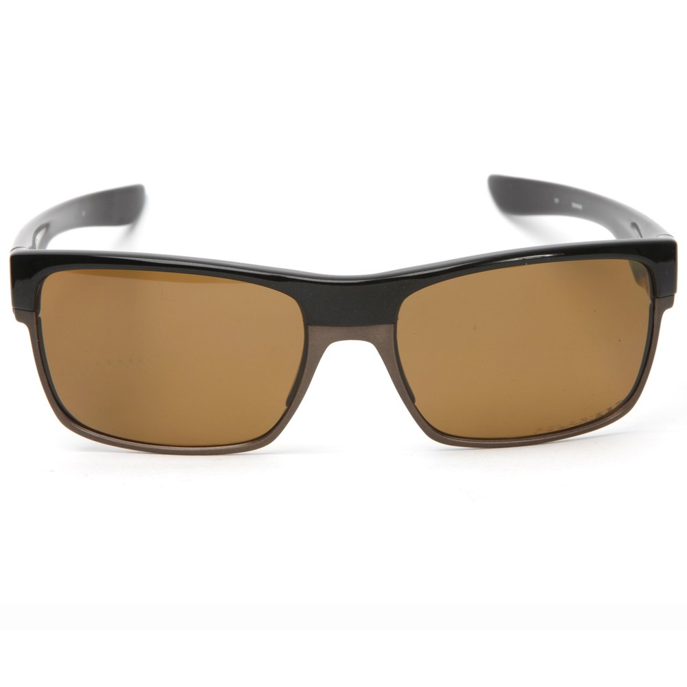 4636eaeff0a Oakley Mens Brown Oakley TwoFace Brown Sugar Polarized Sunglasses