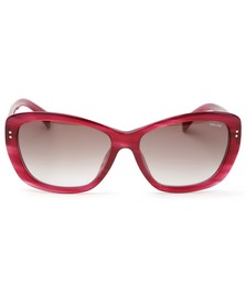 Police Sunglasses Womens Red S1676 Sunglasses