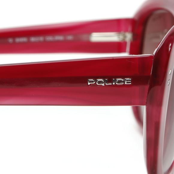 Police Sunglasses Womens Red S1676 Sunglasses main image