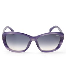 Police Sunglasses Womens Purple S1676 Sunglasses