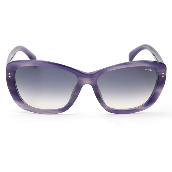 Police Sunglasses Womens Purple S1676 Sunglasses main image