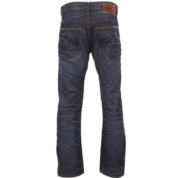 G-Star Mens Blue 3301 Hydrite Straight Leg Jean main image
