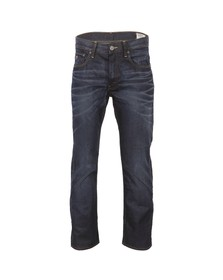 G-Star Mens Blue 3301 Hydrite Straight Leg Jean