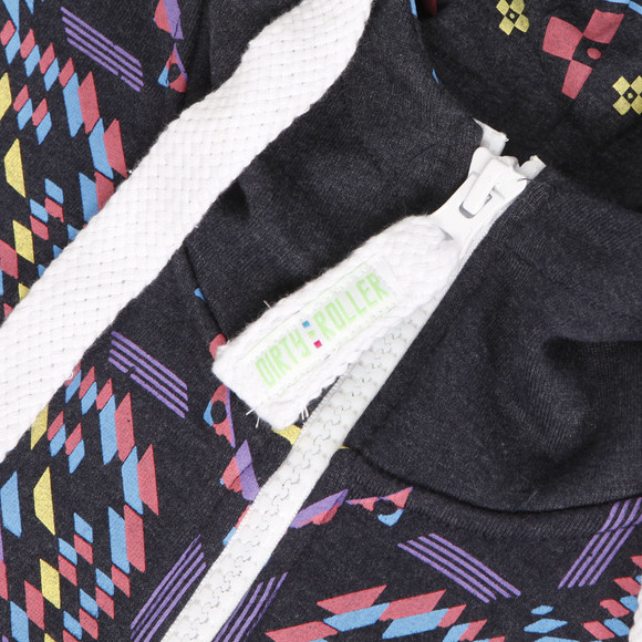 Dirty Roller Unisex Blue Dirty Roller Aztec Onesie main image