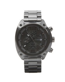 Diesel Mens Black Diesel DZ4223 Overflow Metal Watch