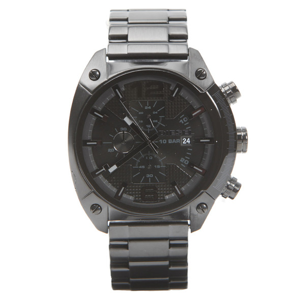 Diesel Mens Black Diesel DZ4223 Overflow Metal Watch main image