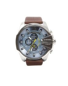Diesel Mens Brown Diesel DZ4281 Mega Chief Watch