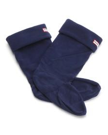 Hunter Unisex Blue Hunter Kids Welly socks