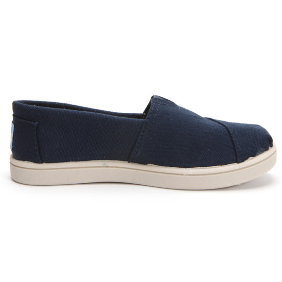 Toms Boys Blue Toms Youth Classic Canvas in Navy