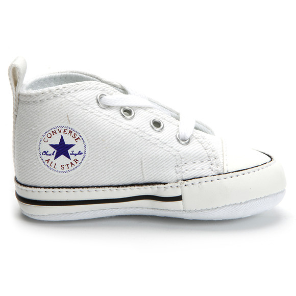 Converse Unisex White Converse First Star Canvas main image