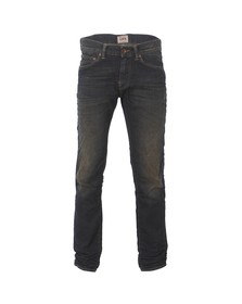 Edwin Mens Blue Edwin ED-80 Slim Shuttle Denim Terra Wash Jean