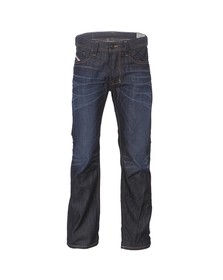 Diesel Mens Blue Larkee 0806W Straight Jeans