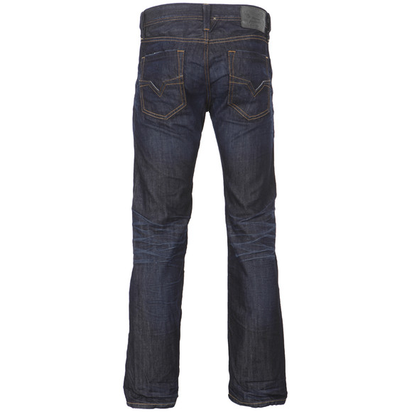 Diesel Mens Blue Larkee 0806W Straight Jeans main image