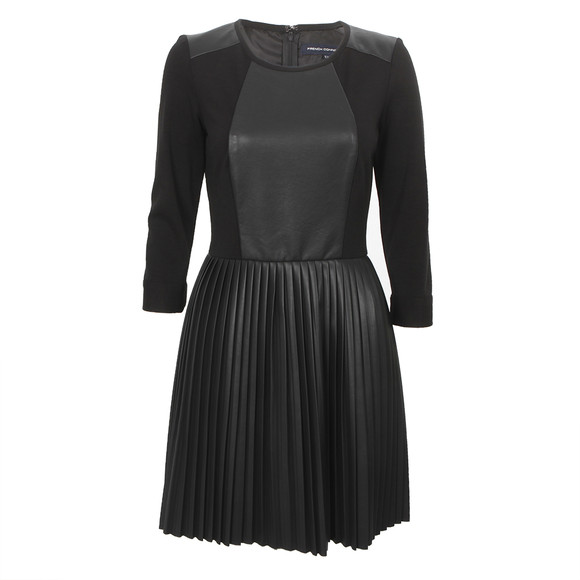 French Connection T Solar Pleated Dress