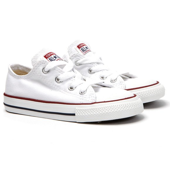 Converse Unisex White Kids All Star Ox main image
