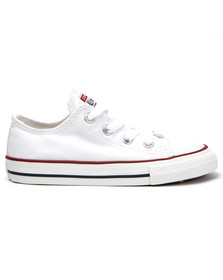 Converse Unisex White Kids All Star Ox