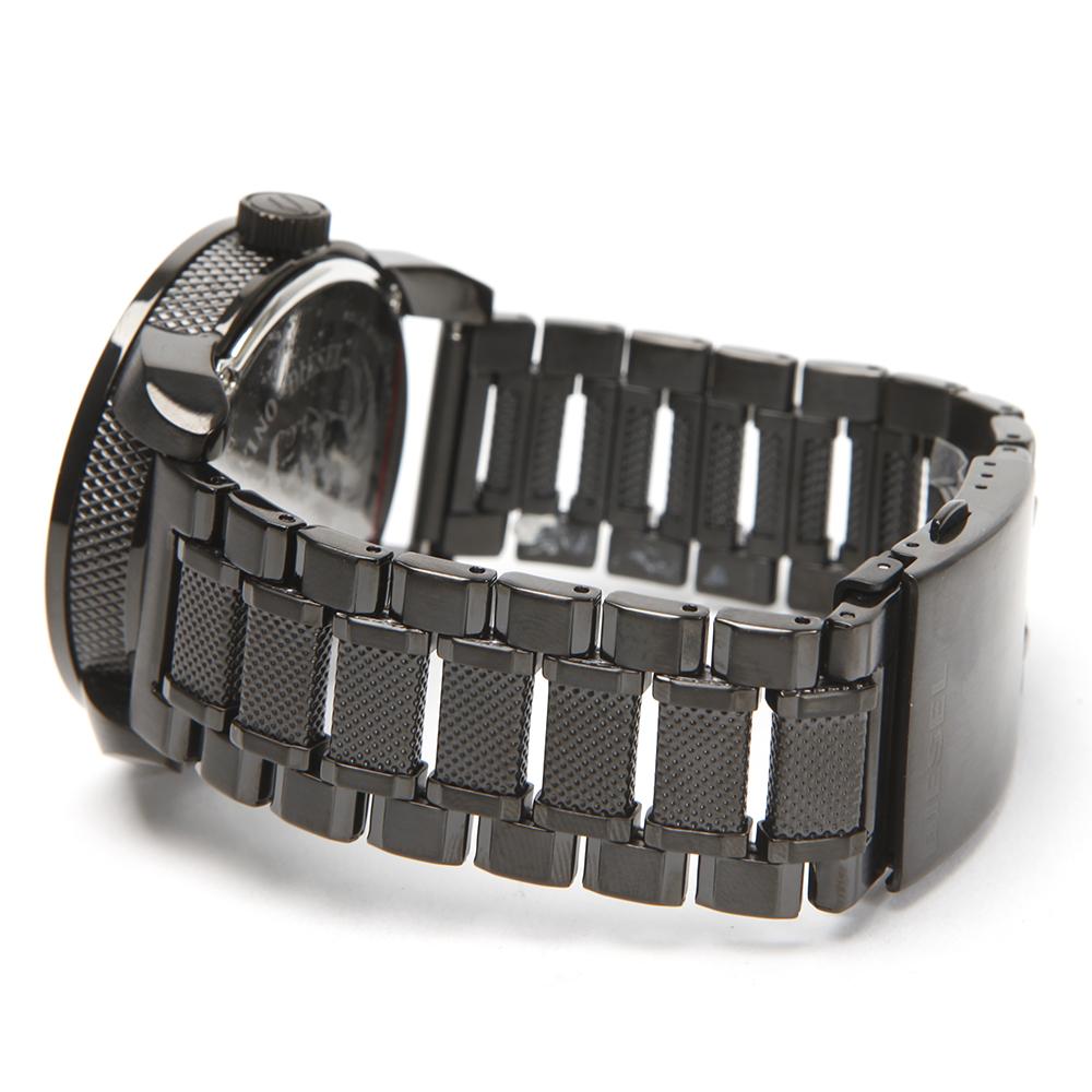 Diesel DZ1371 Franchise 46 Large Round Metal Strap Watch main image