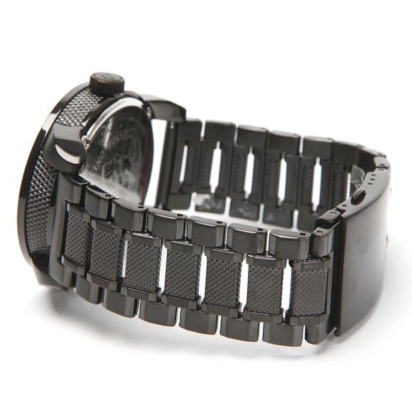 Diesel Mens Black Diesel DZ1371 Franchise 46 Large Round Metal Strap Watch main image