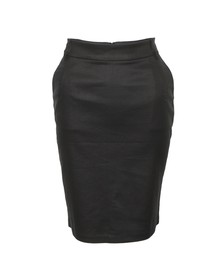 French Connection Womens Black Judy Legs Pencil Skirt