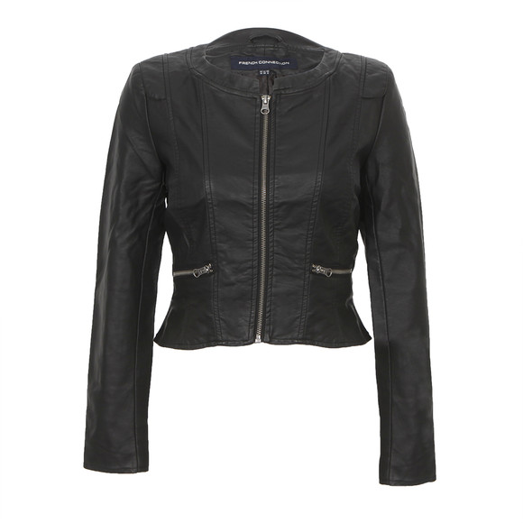 French Connection Riot Stretch Cropped Jacket