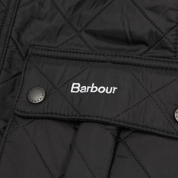 Barbour International Boys Black Boys Ariel Polarquilt main image