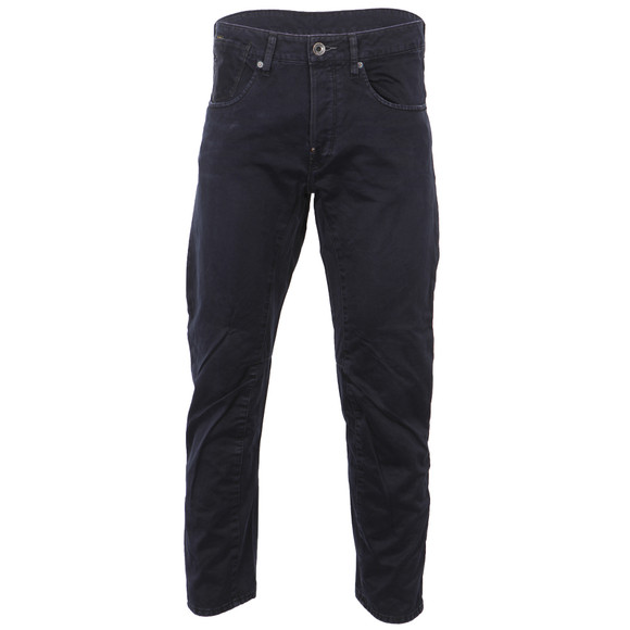 G-Star Mens Blue G-Star A-Crotch Mezarine Blue Coloured Tapered Jean main image
