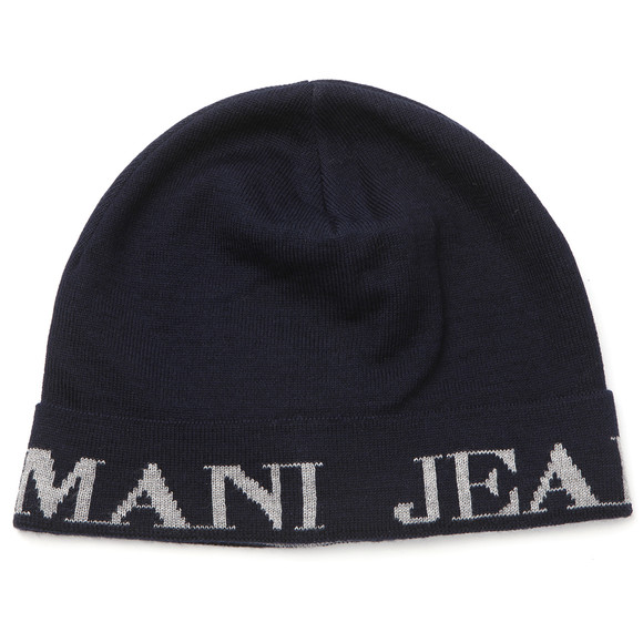 Armani Jeans Mens Blue Armani Jeans U6404 Knitted Hat main image 827bed77ae6