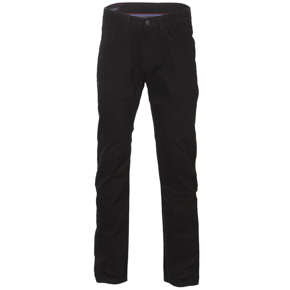 c09f3b0f Tommy Hilfiger Mens Black Tommy Hilfiger Mercer Twill Jeans
