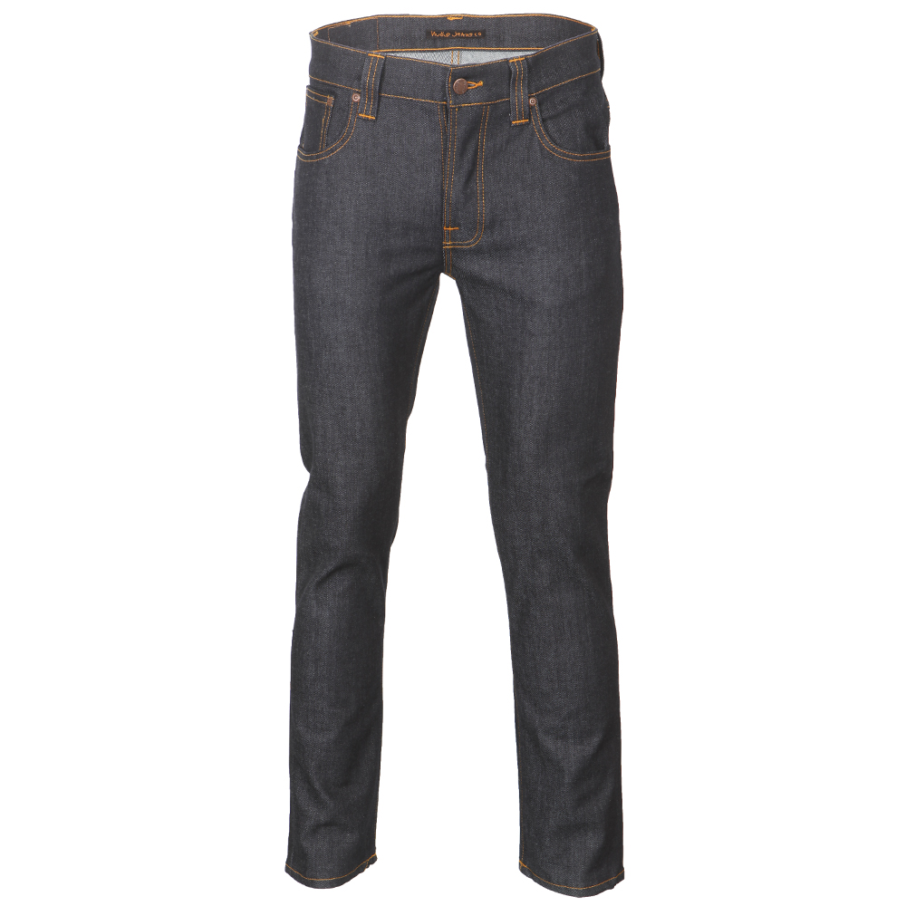 Grim Tim Organic Dry Navy Jeans main image