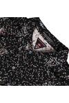 Maison Scotch Womens Black 20702 Printed Boxy Fit Shirt