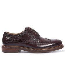 H By Hudson Mens Red Callaghan Hi Shine Brogue