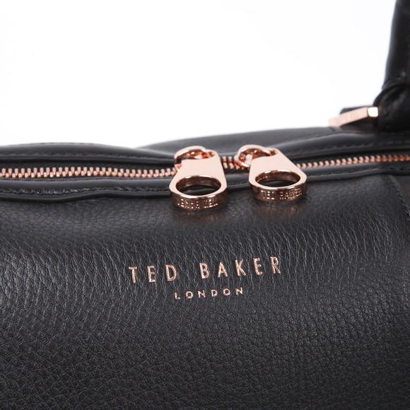 Ted Baker Womens Black Ted Baker Kamilas T Keeper Bowler Bag main image