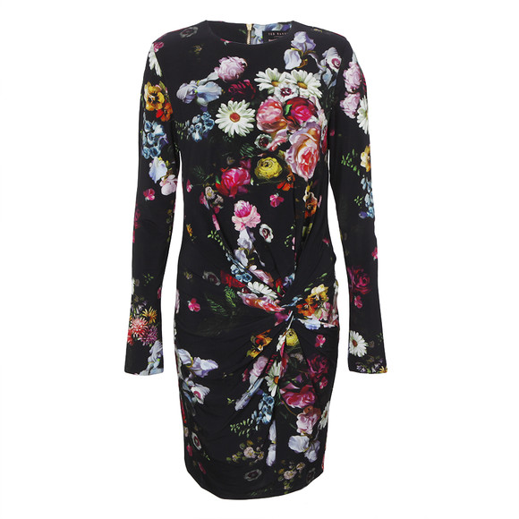 Ted Baker Izzie Oil Painting Floral Dress