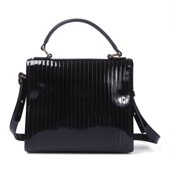 Ted Baker Black Suno Quilted Enamel Mini Tote Bag | Masdings : ted baker quilted tote bag - Adamdwight.com