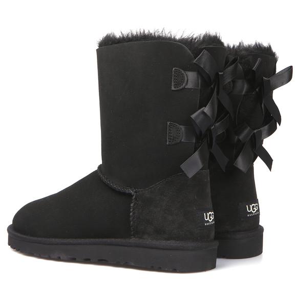 Ugg Black Bailey Bow Boot