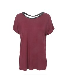 Religion Womens Red Pink Top