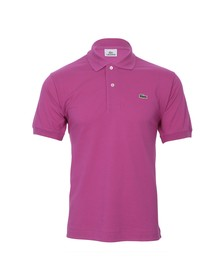 Lacoste Mens Pink L1212 Chardon Z7D Plain Polo Shirt