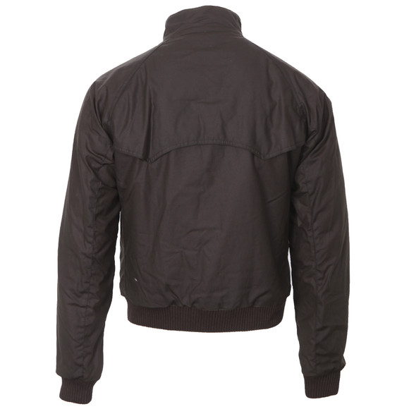 Barbour Steve McQueen Mens Green Merchant Wax Jacket main image